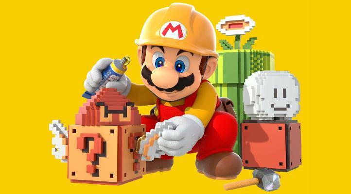 ▷ Super Mario Maker 2: Beende das Level der vergrabenen Steine