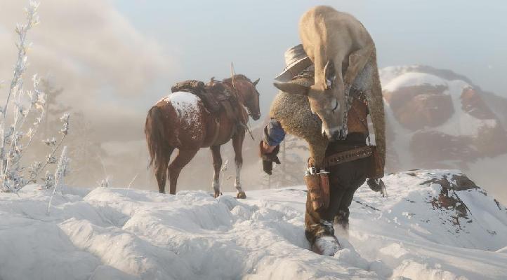 Red Dead Redemption 2 Legendare Tiere Karte.Red Dead Redemption 2 So Jagen Sie Legendare Tiere Rdr2