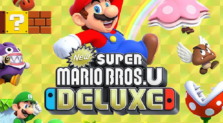 New Super Mario Bros U Deluxe Is Here And We Unveil Everything