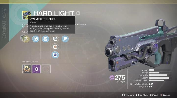 ▷ Destiny 2: How to get the Hard Light weapon