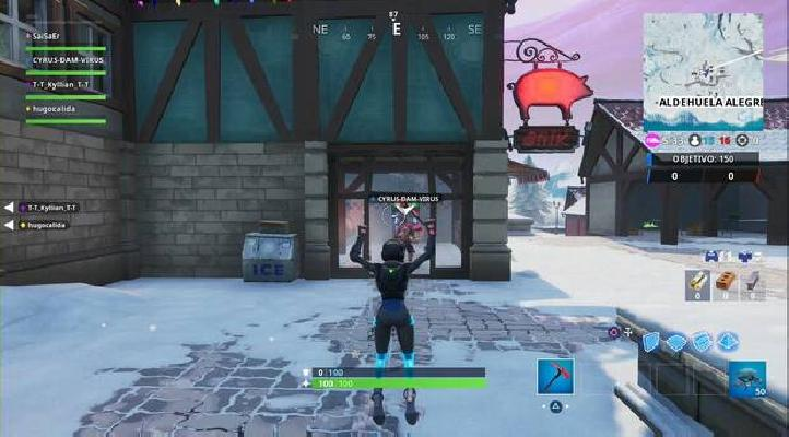 ▷ Fortnite Fortbyte 60 Location: how to find The Happy Oink
