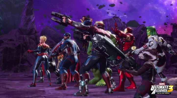 Madison : Marvel ultimate alliance 2 pc unlock all characters
