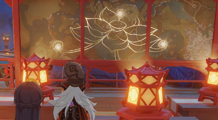 Genshin Impact Dónde Encontrar El Tesoro De La Pantalla Iluminada
