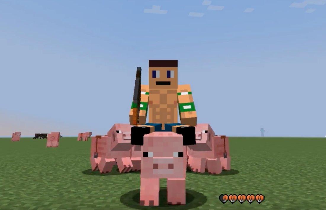 Minecraft: wie man ein Schwein reitet - Tipps und Tricks